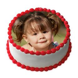 Butterscotch Delight Photo Cake